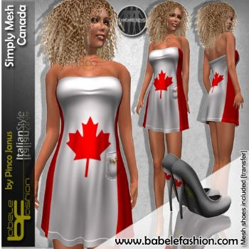 Short dress Simply Mesh Canada