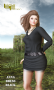 anna dress black promo