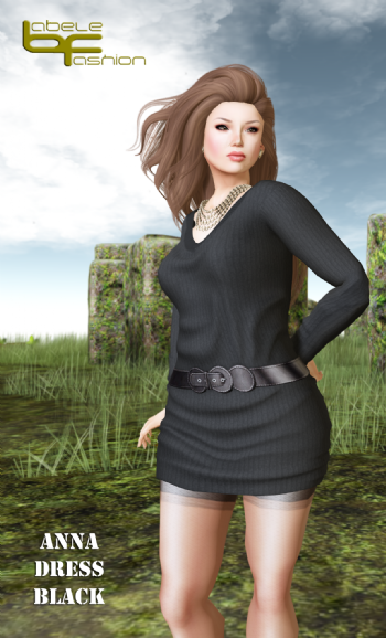 Babele Fashion Anna dress black