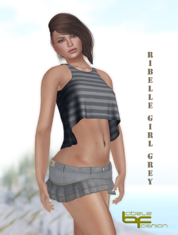 Babele Fashion Ribelle Girl Grey