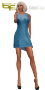 saila cocktail dress blue