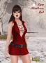 Zipp Minidress Red promo