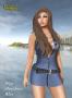 zipp minidress blue promo