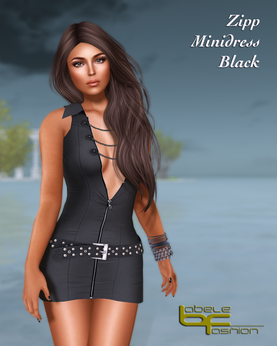 zipp minidress black promo